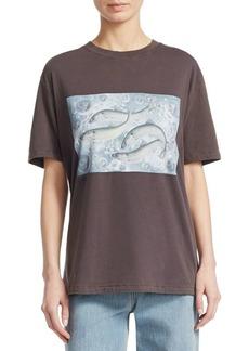 Acne Studios Oslabi Fish T-Shirt
