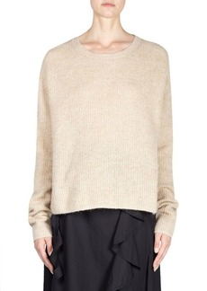 Acne Oversized Cable Knit Pullover