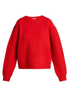 Acne Studios Oversized wool-knit sweater