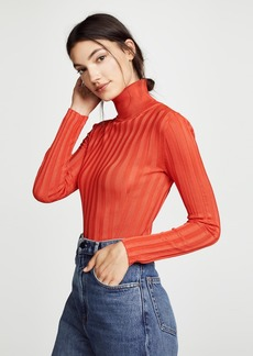 Acne Studios Ribbed Mock Neck Sweater