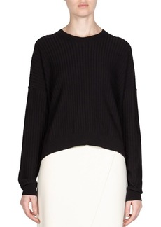 Acne Ribbed Pullover