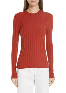 Acne Studios Ribbed Wool Blend Sweater
