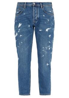Acne Studios River painted jeans