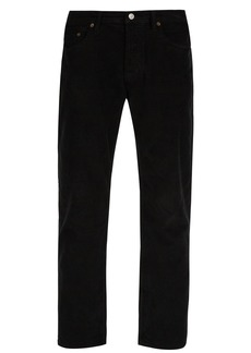 Acne Studios River slim-fit stretch-cotton corduroy trousers