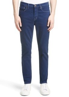 Acne Studios River Slim Tapered Fit Jeans (Cobalt)