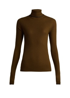 Acne Studios Roll-neck wool knit sweater