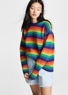 Acne Studios Samara Rainbow Sweater
