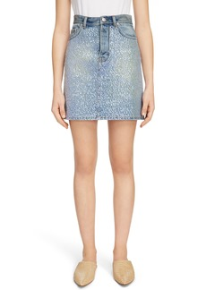 Acne Studios Sharmayne Denim Skirt