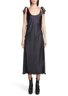 Acne Studios Shiny Slip Dress
