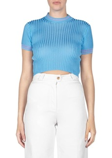 Acne Sisian Cropped Sweater