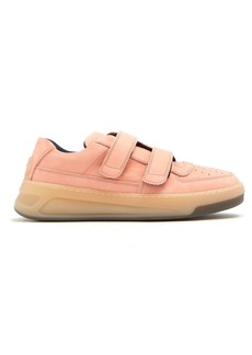 Acne Studios Steffey low-top nubuck trainers