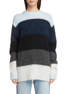 Acne Studios Stripe Oversized Sweater