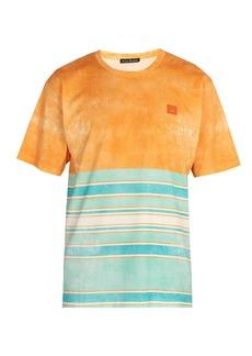 Acne Studios Striped cotton T-shirt