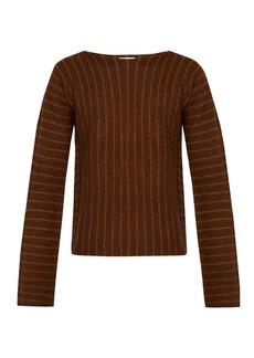Acne Studios Striped-knit wool sweater
