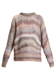 Acne Studios Striped oversized sweater