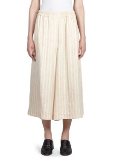 Acne Striped Wide-Leg Culottes