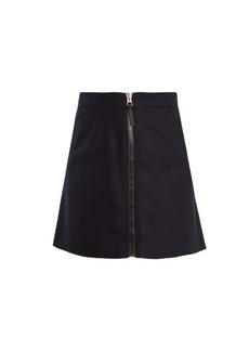 Acne Studios Suraya zip-fastening wool mini skirt
