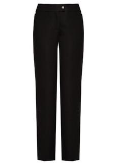 Acne Studios Svanborg straight-leg wool trousers