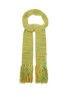 Acne Studios Tassel knit scarf