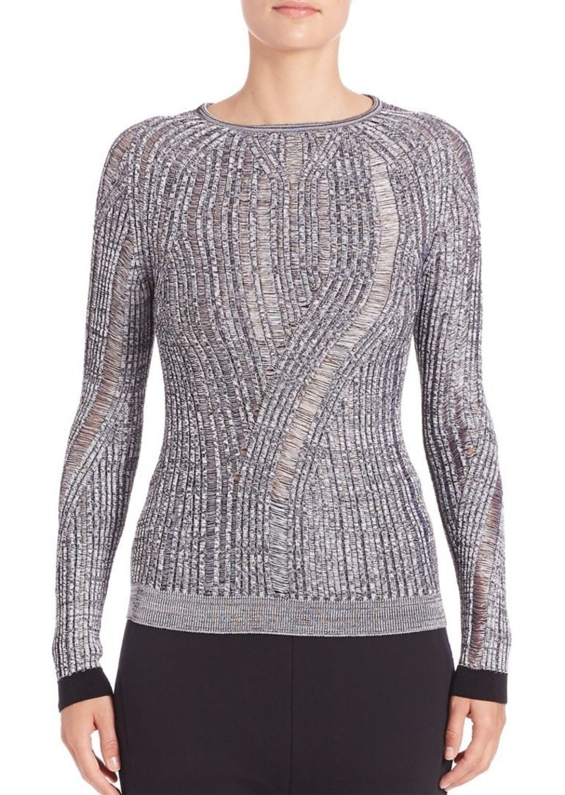 Acne Studios Textured Long-Sleeve Pullover