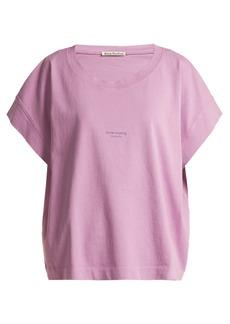 Acne Studios Tohnek logo-print cotton T-shirt
