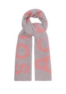 Acne Studios Toronto large bi-colour wool scarf