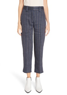 Acne Studios Trea Linen Blend Pants