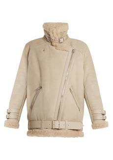 Acne Studios Velocite oversized shearling jacket