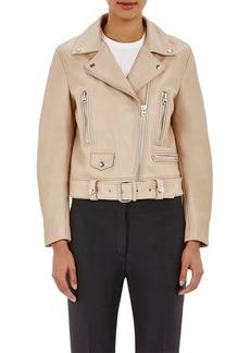 """Acne Studios Women's Belted """"Mock"""" Moto Jacket"""