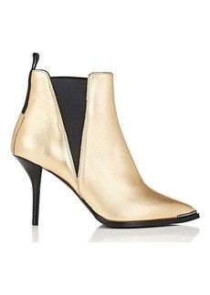 Acne Studios Women's Jemma Metallic Leather Ankle Boots