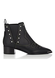 Acne Studios Women's Jexy Leather Ankle Boots