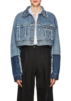 Acne Studios Women's Kremi Denim Crop Jacket