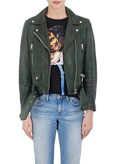 "Acne Studios Women's ""Mock"" Leather Moto Jacket"