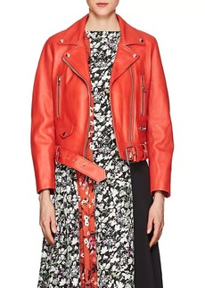 "Acne Studios Women's ""Mock"" Leather Moto Jacket"