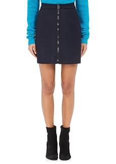 Acne Studios Women's Suraya Wool-Blend Miniskirt
