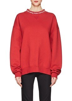 Acne Studios Women's Yana Cotton Sweatshirt