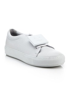 Acne Adrianna Leather Emoticon Sneakers