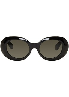 Acne Black Mustang Sunglasses