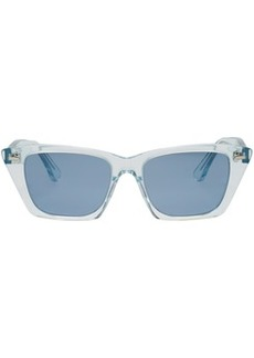 Acne Blue Ingridh Cat Eye Sunglasses
