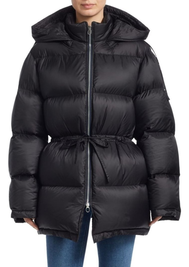 Acne Studios Cinched Waist Puffer Jacket
