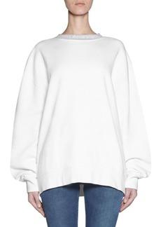 Acne Studios Cotton Crewneck Sweatshirt