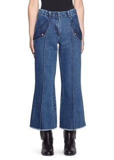 Acne Studios Cropped Flare Jeans