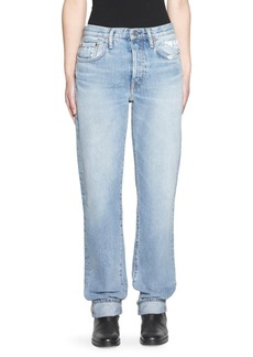 Acne Studios Five-Pocket Cuffed Jeans