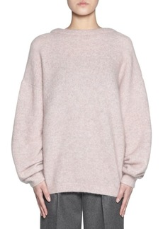 Acne Studios Mohair Dramatic Crewneck Sweater