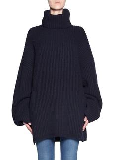 Acne Oversized Wool Turtleneck