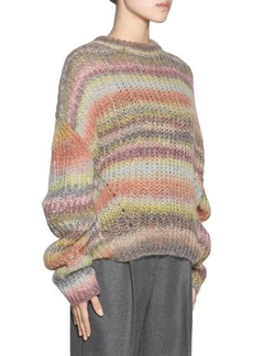 Acne Striped Crewneck Sweater