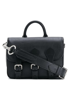 Acne Studios & Mulberry crocodile-effect messenger bag