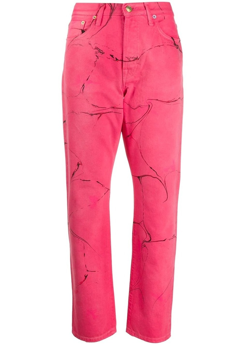 Acne Studios 1997 Swirl straight-leg jeans