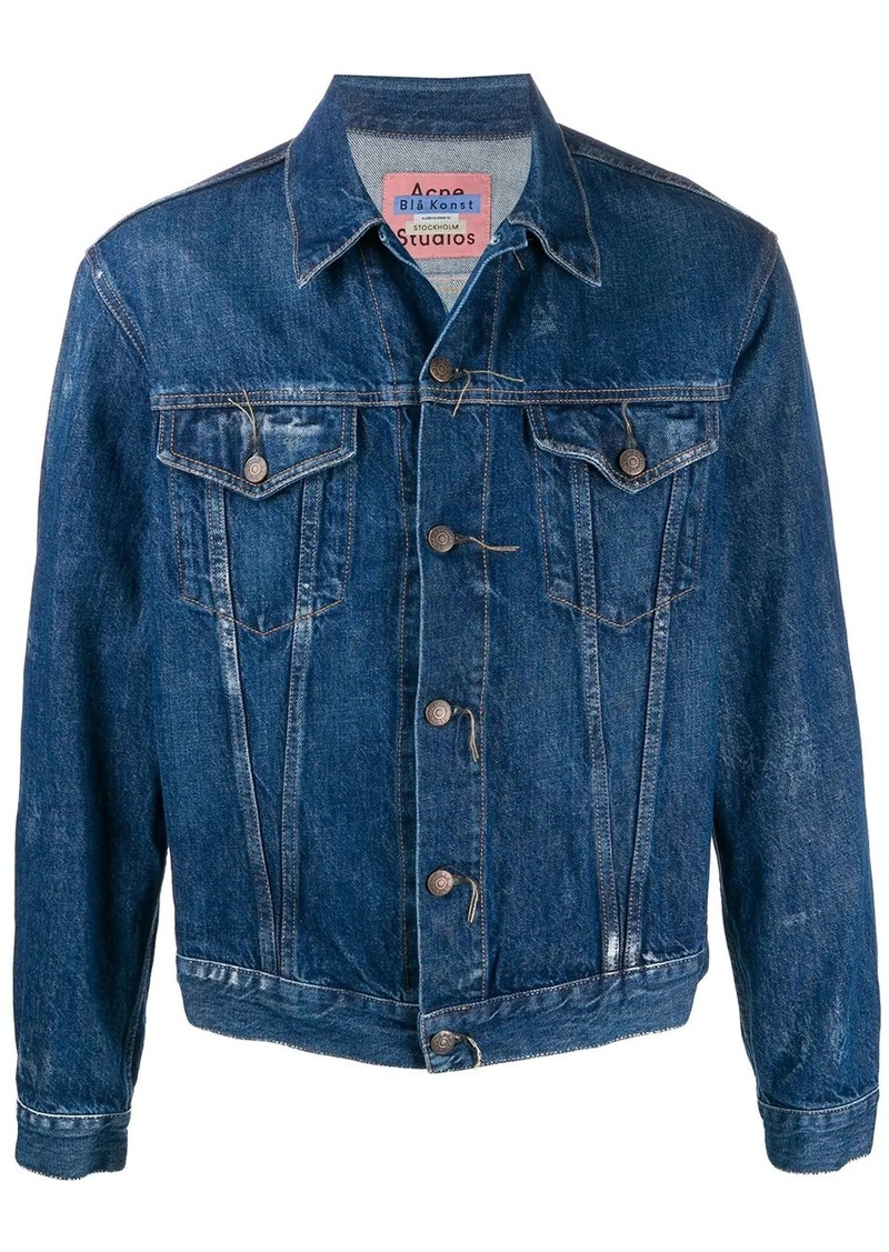 Acne Studios 1998 Crease denim jacket