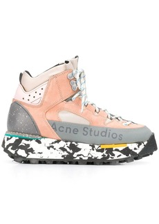 Acne Studios 90s inspired outdoor hi-top sneakers